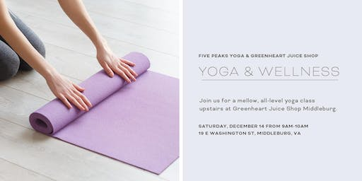 Five Peaks Yoga at Greenheart Middleburg