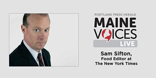 Maine Voices Live with Sam Sifton