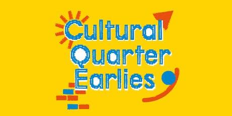 Free Family Workshop - Cultural Quarter Earlies - December tickets