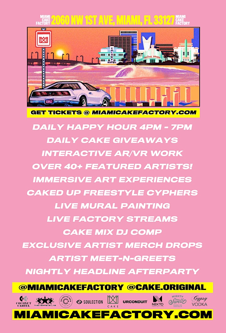 THE CAKE FACTORY Art Basel 2019 image