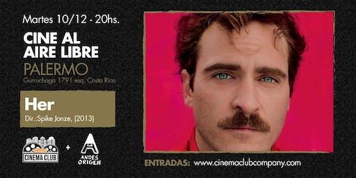 Cine al Aire Libre: HER (2013) - Martes 10/12