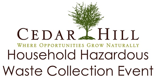 Cedar Hill HHW Collection Event June 13, 2020