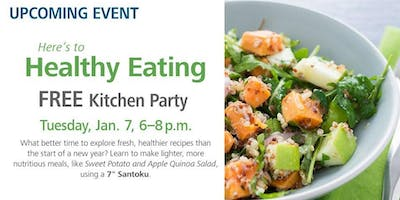 Free Kitchen Party - Here's to Healthy Eating