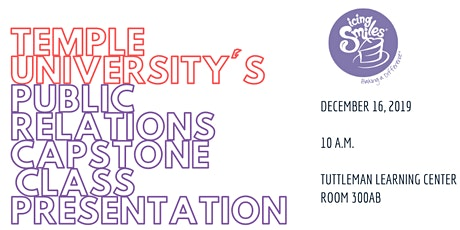 Klein College of Media and Communications PR Capstone Presentation tickets