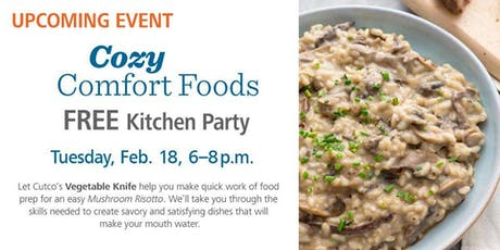 Free Kitchen Party - Cozy Comfort Foods tickets