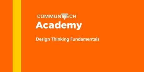 Communitech Academy: Design Thinking Fundamentals - Winter 2020 tickets