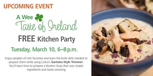 Free Kitchen Party - A Wee Taste of Ireland