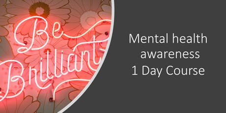 Workplace mental health champions tickets