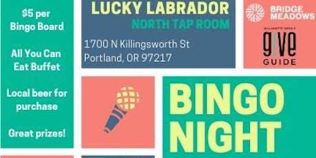 Bridge Meadows Bingo Night! tickets