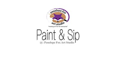 Paint & Sip @ Penelope Fox Art Studio