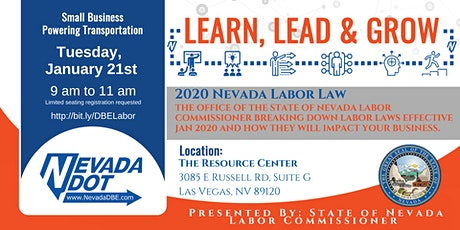 2020 Nevada Labor Law Impact with State of Nevada Labor Commissioner tickets