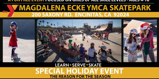 The Reason for the Season - Skate Rising Event on Saturday, December 14th