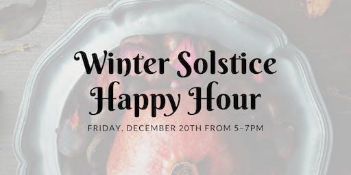 Winter Solstice Happy Hour