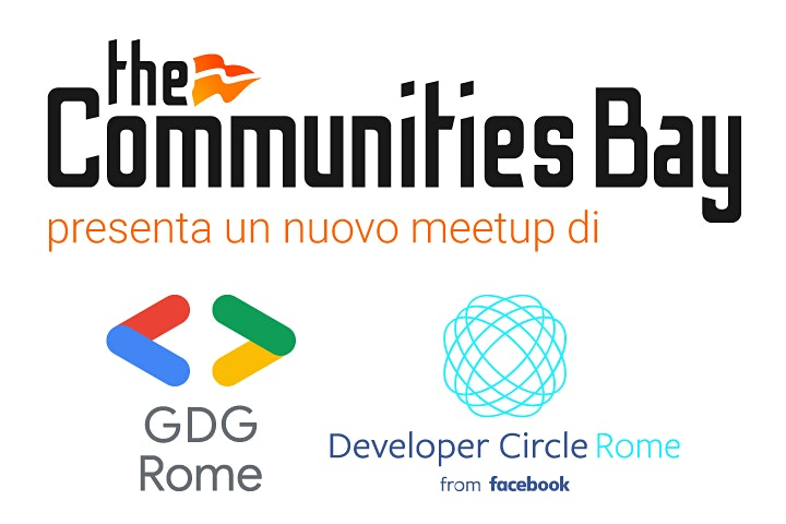 Immagine Google Flutter Interact '19  #GDG Roma TheCmmBay  & DevC Roma