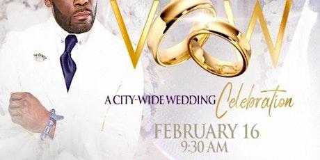 Free City-Wide Wedding Celebration tickets