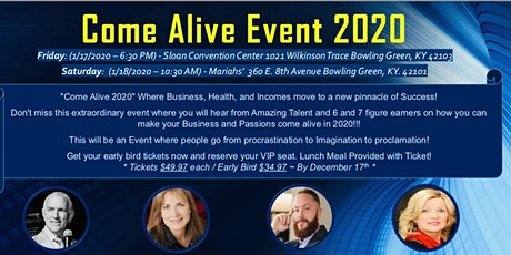 Come Alive 2020!  tickets