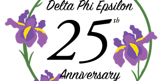 Delta Phi Epsilon 25 Year Anniversary
