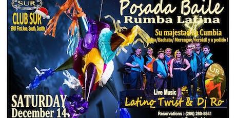 Rumba Latina (Posada Baile) with LIVE BAND tickets