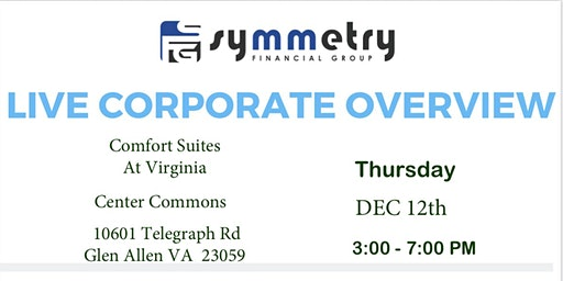 Corporate Overview and Hiring Event  - Symmetry Financial Group