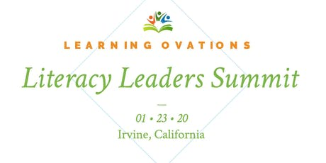 Learning Ovations' Literacy Leaders Summit tickets
