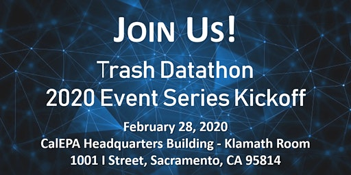 Trash Datathon 2020 Event Series Kickoff