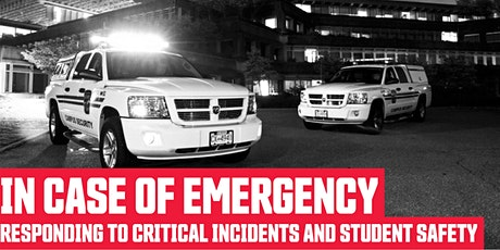 In Case of Emergency: Responding to critical incidents and student safety tickets