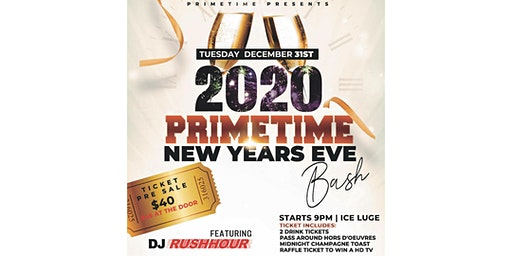 Primetime New Year's Eve BASH 2020