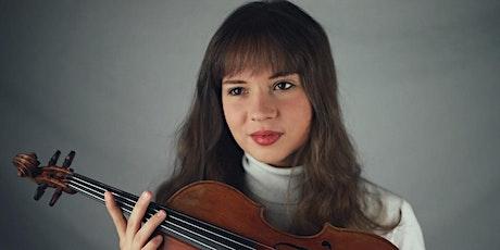 ESU Reception and violin recital with Juliette Roos tickets