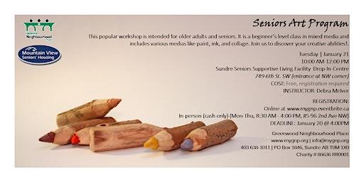Seniors Art Program
