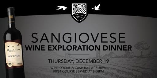 Sangiovese Wine Exploration Dinner