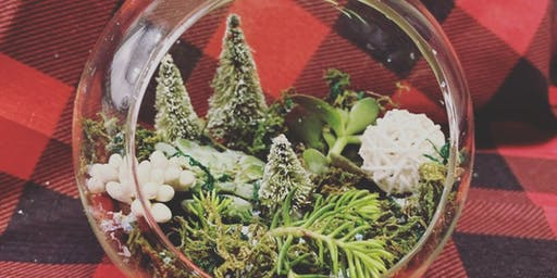 Winter Terrarium Workshop with Sprout Florals