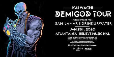 Kai Wachi - Demigod Tour | IRIS ESP101 Learn to Believe | Sat January 25 tickets