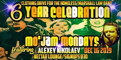 Mo' Jams 6 Year Party ft. Alexey Nikolaev/Clothing Drive tickets