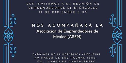 Reunión de emprendedores argentinos en México