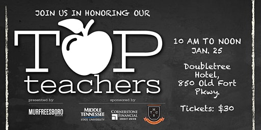 2019  Murfreesboro Magazine Top Teachers