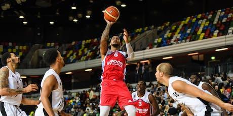 London City Royals v  Surrey Scorchers  Basket Ball Game tickets
