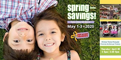 JBF Twin Cities NE Metro Spring Early Access Shopping Ticket