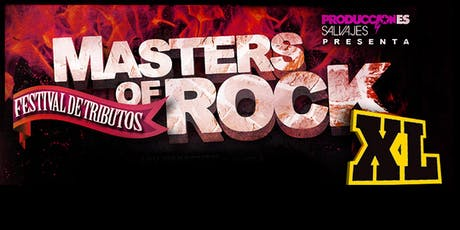 Festival de tributos MASTERS OF ROCK XL. Barcelona entradas