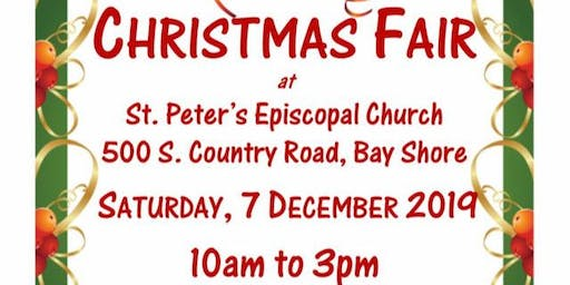 Christmas Fair - Crafts and Baked Goods