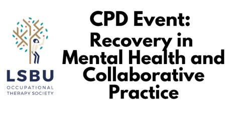 Recovery in Mental Health and Collaborative Practice tickets