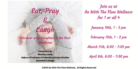 Eat, Pray & Laugh tickets