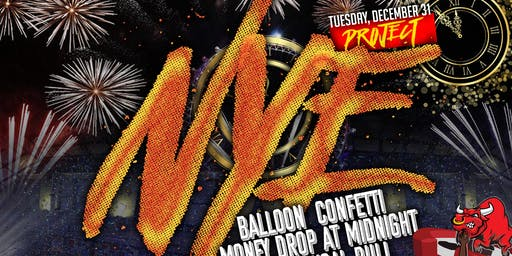 #PROJECTNYE ! ***THE  BIGGEST NEW YEAR'S EVE PARTY OF THE YEAR 2020 !!