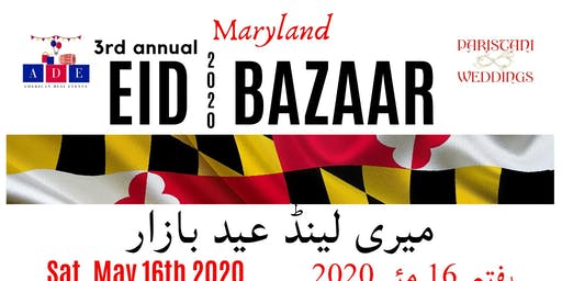 3rd Annual Maryland Eid Bazaar