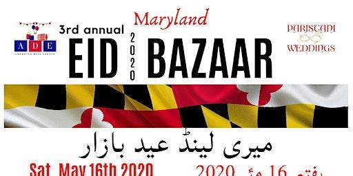 3rd Annual Maryland Eid Bazaar