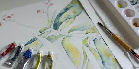 Beginner Watercolour Workshop tickets