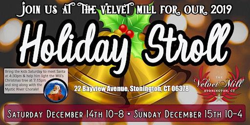 Holiday Stroll at The Velvet Mill