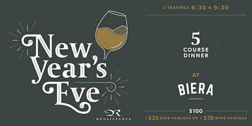 New Year's Eve at BIERA