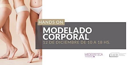 Curso Hands On Modelado Corporal entradas