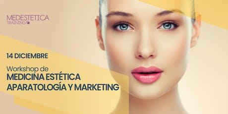Workshop de Medicina Estética, Aparatología y Marketing entradas