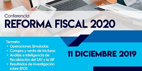 Reforma Fiscal 2020 entradas